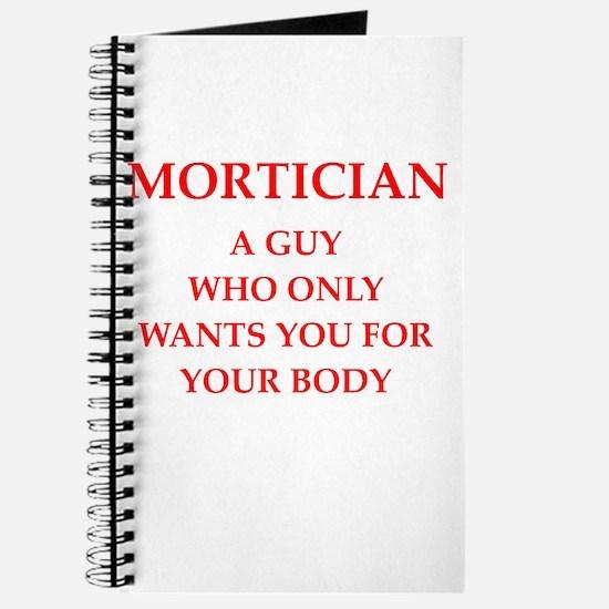 mortician Journal