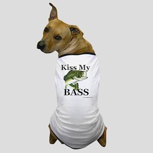 kiss_my_bass_new Dog T-Shirt