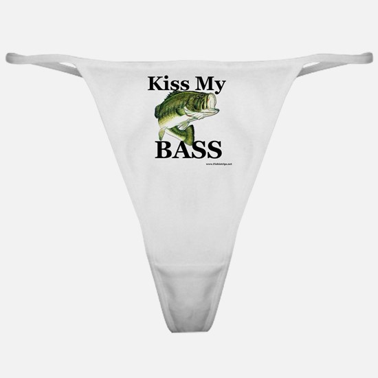 kiss_my_bass_new Classic Thong