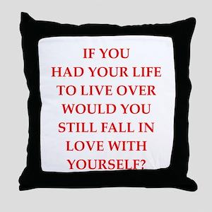 arrogant Throw Pillow
