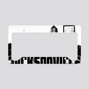 Jacksonville Skyline License Plate Holder