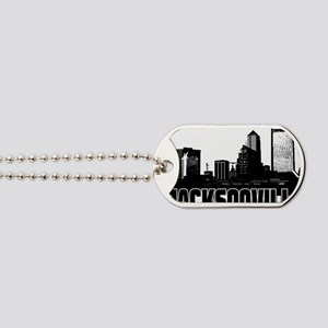 Jacksonville Skyline Dog Tags