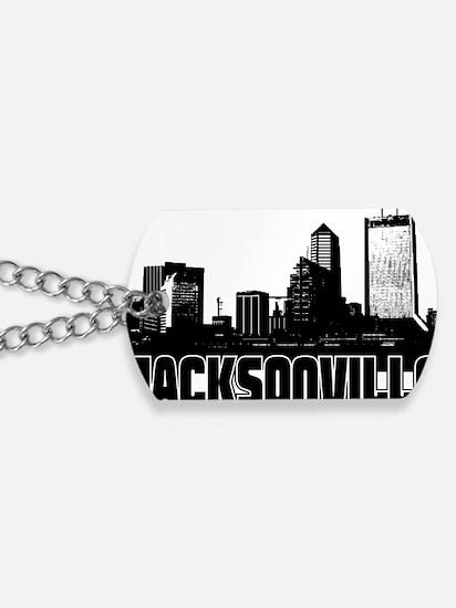 Jacksonville Skyline Dog Tags