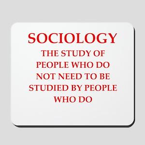 sociology Mousepad