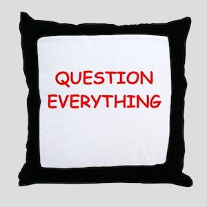 question Throw Pillow
