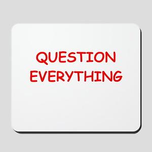 question Mousepad