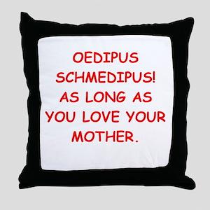 oedipus rex Throw Pillow