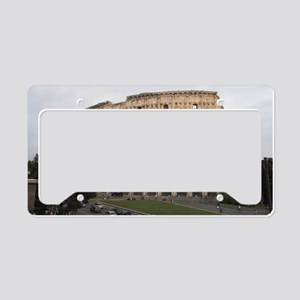 Colosseum License Plate Holder
