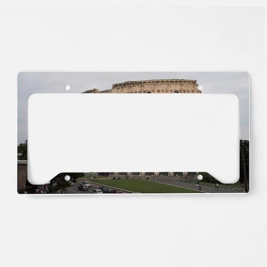 Colosseum License Plate Holder