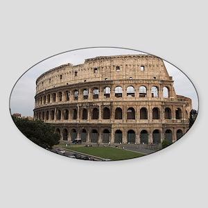 Colosseum Sticker (Oval)