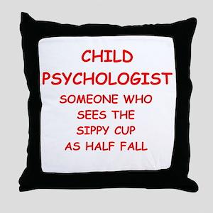 child psychology Throw Pillow