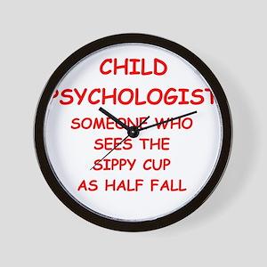 child psychology Wall Clock