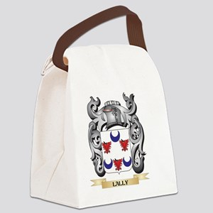 Lally Coat of Arms - Family Crest Canvas Lunch Bag