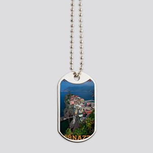 Vernazza from Above Dog Tags