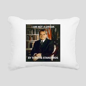 i am not a crook Rectangular Canvas Pillow