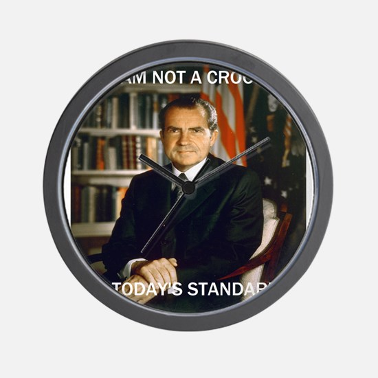 i am not a crook Wall Clock