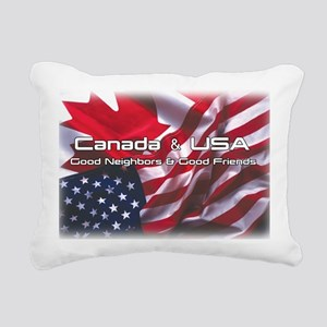 canadausa Rectangular Canvas Pillow