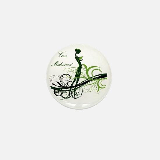 viva midwives Mini Button