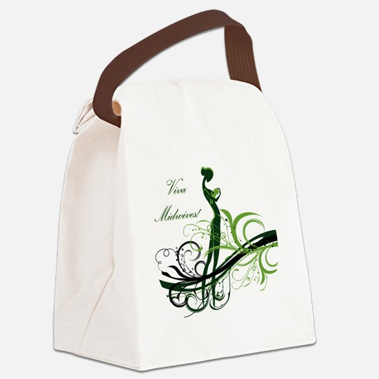 viva midwives Canvas Lunch Bag