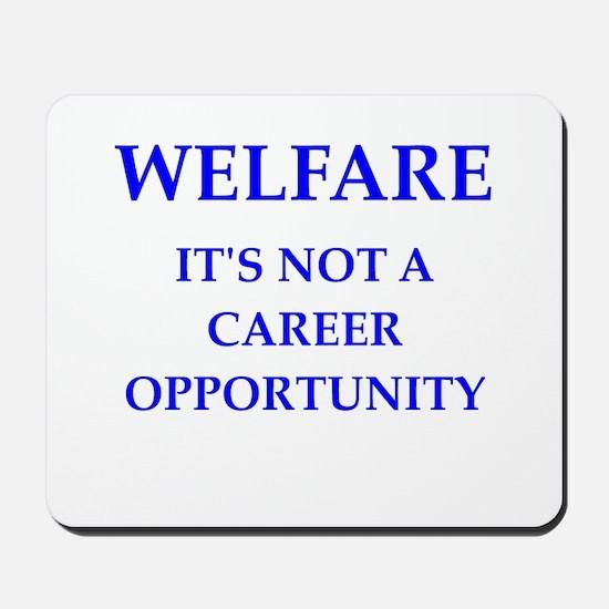 welfare Mousepad