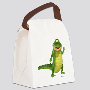 saltythecroc Canvas Lunch Bag