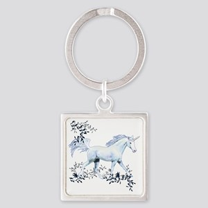 Unicorn-MP Square Keychain