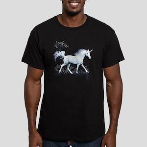 Unicorn-MP Men's Fitted T-Shirt (dark)