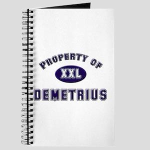 Property of demetrius Journal