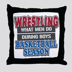 what men do Throw Pillow