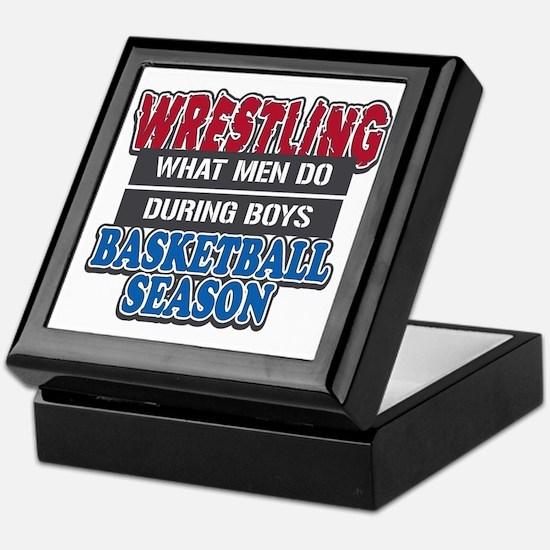 what men do Keepsake Box