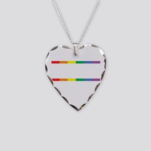 Live-Love-Equality-blk Necklace Heart Charm