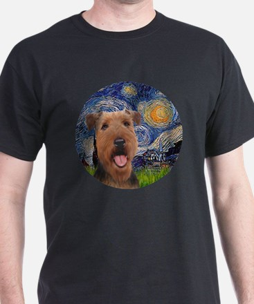 J-ORN-Starry-Airedale3 T-Shirt