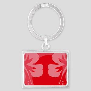 Red22 Landscape Keychain