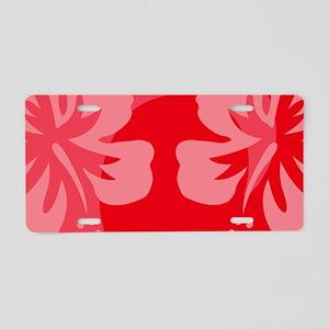 Red22 Aluminum License Plate
