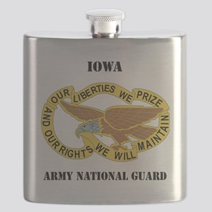 IOWA ANG with text Flask