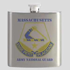 MASSACHUSETTS ANG with text Flask