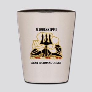 MISSISSIPPI ANG with text Shot Glass