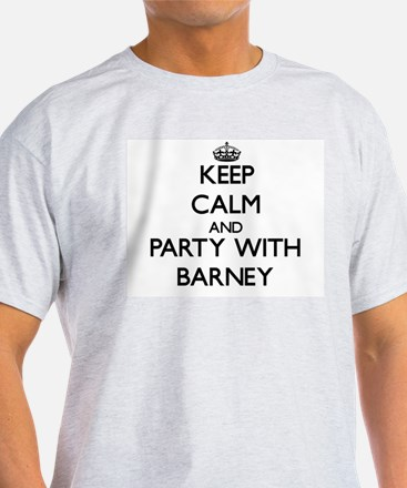 Keep Calm and Party with Barney T-Shirt