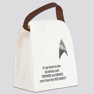 Red shirt copy Canvas Lunch Bag