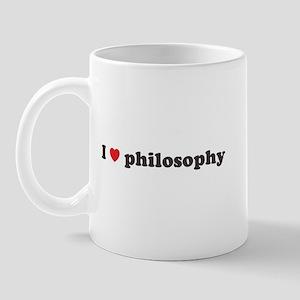 I Heart Philosophy Mug