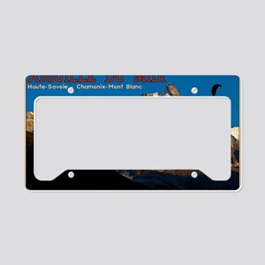 Aiguille du Midi - Paraglider License Plate Holder