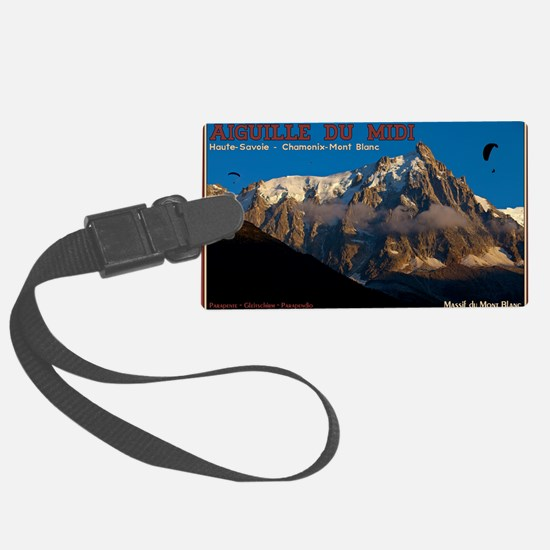 Aiguille du Midi - Paragliders Luggage Tag