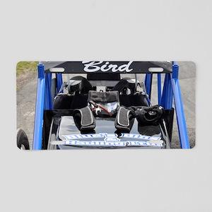 wingless sprint car Aluminum License Plate