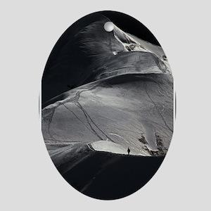 Aiguille du Midi Arete Solo Oval Ornament