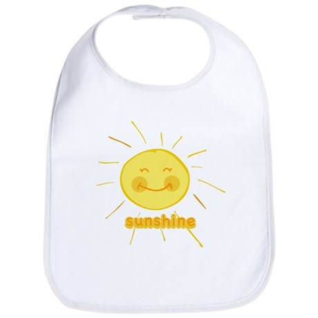 Smiley Sunshine Bib