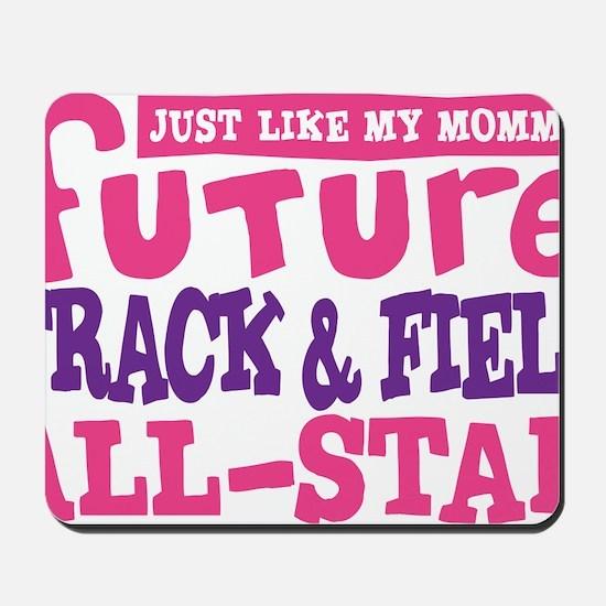 future all star GIRL Mousepad