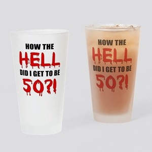 Hell50 Drinking Glass