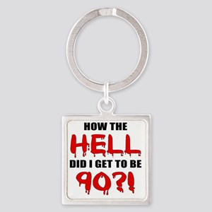 Hell90 Square Keychain