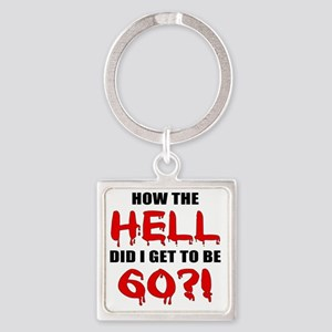 Hell60 Square Keychain