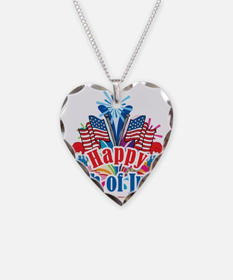 Happy-4th-of-July Necklace